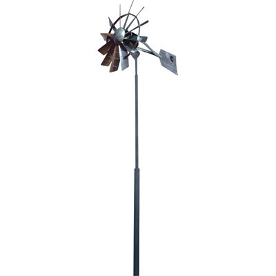 Outdoor Water Solutions Customized Windmill Aeration System - 25ft. Telescoping Hinged Windmill, Model# TPW0022