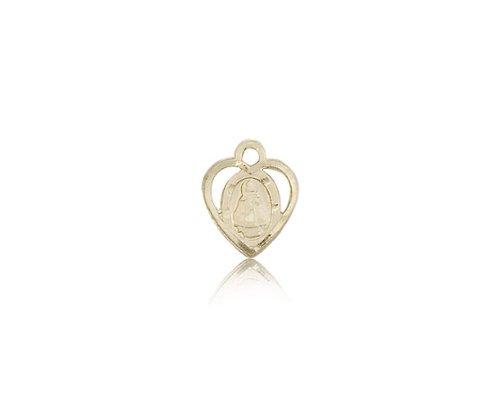 14K Gold Infant Medal