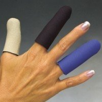 Norco Finger Sleeves, Multi-Color, Size: XS