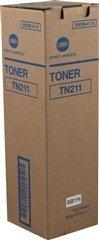 (KonicaMinolta TN-211 Black Toner, Bizhub 200, 222, 250, 282 Toner)