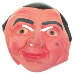 Lifelike Mr Bean Mask for Halloween Cosplay]()