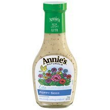 Annies Naturals Lite Poppy Seed Dressing, 8 Ounce -- 6 per case. by Annie's Homegrown