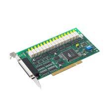 Advantech PCI-1762-BE 16ch Relay & 16ch Isolated DI PCI Card. by Advantech