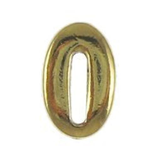 0 Gold Lapel Pin