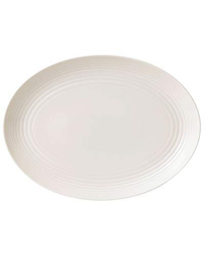 Royal Doulton Gordon Ramsay Maze Oval Platter, 13'', White by Royal Doulton