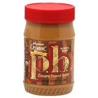 Wegmans Organic Peanut Butter, Creamy, 16 Oz. (Pack of 2)