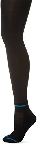 BOOTIGHTS Women's Chinook Base Shaper Tights, Jet Black, (Chinook Winter Socks)