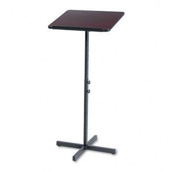 Speaker Stand Lectern (Safco® Speaker Stand with Height and Tilt Adjustability LECTERN,ADJ. SPEAKER,MY T088120 (Pack of2))
