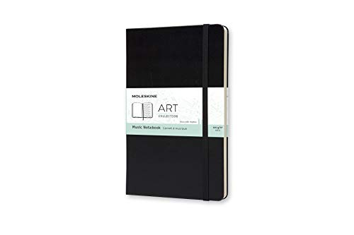 Moleskine Art Music Notebook, Hard Cover, Large (5