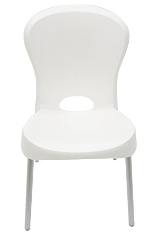 Cadeira Jolie Pernas Polidas Branco Summa - Tramontina