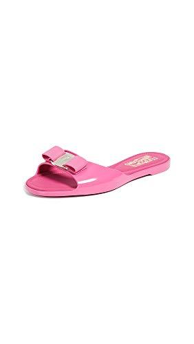 Salvatore Ferragamo Women's Cirella Slide Sandals, Bubble Gum, Pink, 11 M US