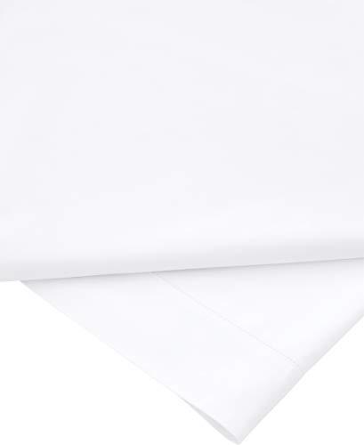 Sheridan Flat Sheet SUPERKING Super-King Snow Cotton
