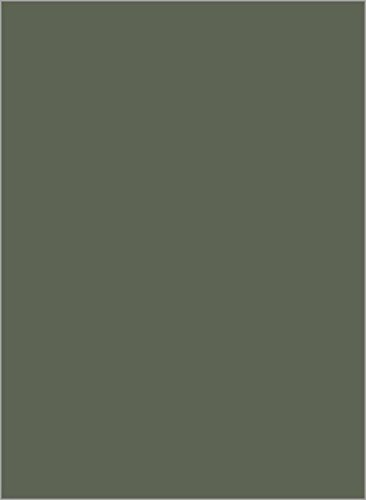 A6 Gmund Colors Matt Seedling Green Blank Cards - Flat, 111lb Cover, 25 Pack ()