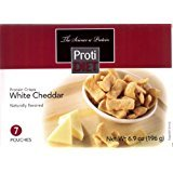 ProtiDiet - Protein Crisps, 7 Pouches Net Wt. 8.2 oz (White Cheddar)