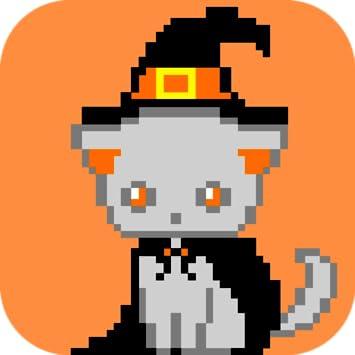 Amazon Com Halloween Color By Number Pixel Art Halloween Appstore
