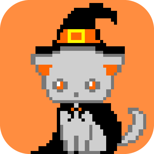 Halloween Color By Number, Pixel Art Halloween -