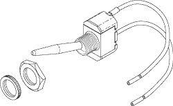 Power Switch for Pelton & Crane PCS604