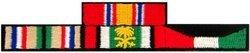 Desert Storm Ribbons Patch ()