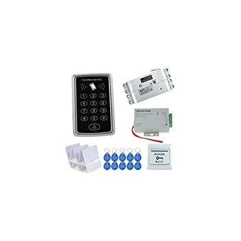 Access Control Kits Access Control Original Free Shipping Full Set With Electric Bolt Lock+keypad+power Supply+exit Switch+keys Door Access Control System Kit