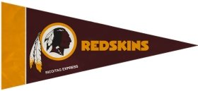 Rico Industries NFL Washington Redskins Pennant Mini (8 Piece), One Size, Team Color -
