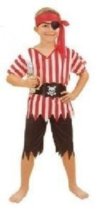 CHILDRENS PIRATE FANCYDRESS COSTUME OUTFIT HALLOWEEN by (Halloween Fancydress)