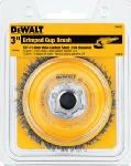 """Dewalt DW4920 3"""" Crimped Steel Cup Wire Brush"""