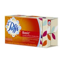 Puffs Basic Facial Tissue White - 96 CT - Harbor Tissue