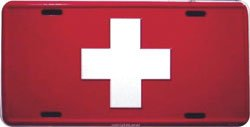 Switzerland License Plate ()