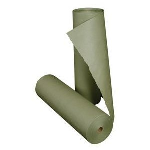 6'' x 1000' Green Auto Marine Aviation Body Shop Pro Masking Paper Log (6 Rolls)