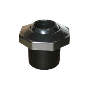 Pentair 540050 Black Directional Insider Eyeball with 1-Inch Opening and 1-1/2-Inch Slip Inlet Replacement, Pool Wall Fittings