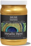 Mm200-06 6oz Pale Gold Matte Metallic Paint Collection