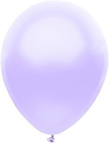 100 Latex Balloons - 11 Inch - Silk Lilac