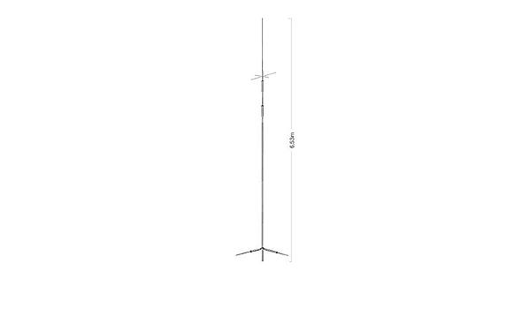 Diamond cp-8040 HF vertical de banda dual antena: Amazon.es ...