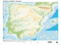 Mapa físico España (Mapas mudos): Amazon.es: Edicións do Cumio: Libros