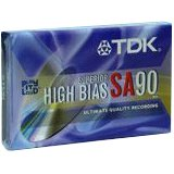 TDK SA90 High Bias Cassettes -5-Pack (Discontinued by Manufacturer) (Cassette Audio Tdk Sa90)