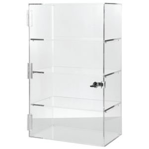 "Countertop Display Case 21"" H, Clear"