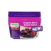 Earthbound Farm Basket Blend Berry, 10 Ounce - 12 per case.
