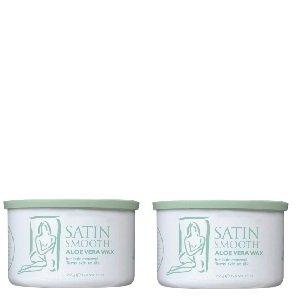 Satin Smooth Aloe Vera Wax 2 Pack by Satin Smooth ()