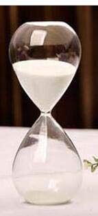 DECOTX Sand Clock Creative Sand Clock Hourglass Timer Clock Sandglass Tea Timers Craft Birthday Gift as Delicate Home Decorations 5/10/30/60min by DECOTX