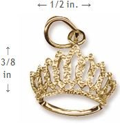 Rembrandt Charms, Tiara, 14K Yellow Gold by Rembrandt Charms (Image #1)