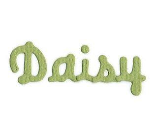 QuicKutz Daisy SkinniMini Alphabet Set