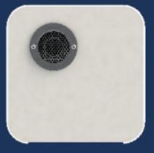 Suburban 6276APW Nautilus Water Heater Replacement Panel-6 Gallon, Polar White