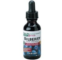 Natures Plus Bilberry (Nature's Plus - Bilberry, 50 mg, 1 fl oz liquid)
