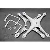 DJI Phantom 4 Body Shell Top & Bottom Cover + Landing Gear Antenna For DJI Phantom 4 Parts Accessories