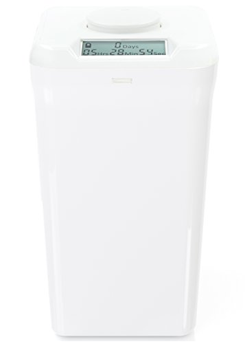 Kitchen Safe XL: Time Locking Container (White Lid + White Base) - 10.4