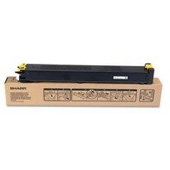 sharp-yellow-15000-page-yield-toner-cartridge-for-mx-3100n-and-mx-2600n-copiers-mx-31ntya