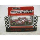 Super Stars #87 Joe Nemechek Dentyne Racing Nascar In White & Red Diecast 1:64 Scale By Matchbox - Antique Matchbox Cars