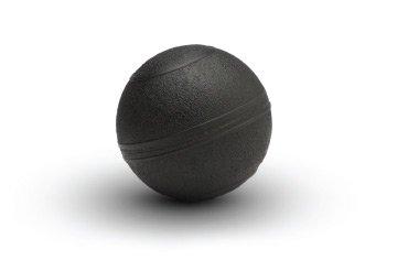 D-Ball 5 inch USA-Made Slam Ball - Non Bounce Medicine Ball for Agility Drills - Black
