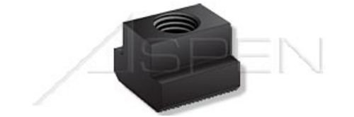 M12 X 14mm Class 10 Steel 20 pcs Black DIN 508 T-Slot Nuts Metric