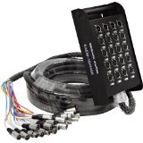 Seismic Audio - 16 Channel XLR SNAKE CAB...